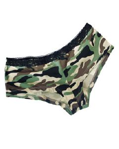 PANTY SHORTY VERT CAMOUFLAGE MILTEC TAILLE L
