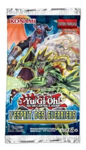 1 BOOSTER DE 5 CARTES SUPPLEMENTAIRES YU GI OH L'ESPRIT DES GUERRIERS