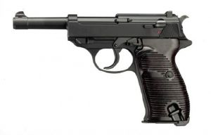 P38 WALTHER BICOLORE SPRING UMAREX SHOOT UP 0.5 JOULE