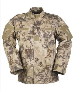 VESTE MILITAIRE ACU CAMOUFLAGE MANDRA TAN TAILLE S