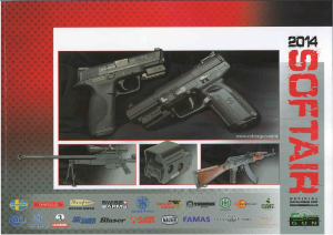 CATALOGUE AIRSOFT 2014 DE CYBERGUN