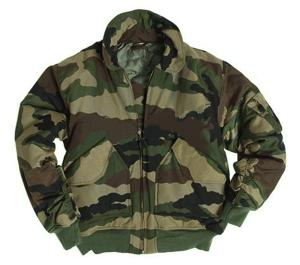 "BLOUSON AVIATEUR STYLE CWU US "" BOMBERS "" CAMOUFLAGE CENTRE EUROPE MILTEC"