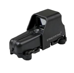 ADVANCED DOT SIGHT 553 LARGE NOIRE VISEE POINT ROUGE ET POINT VERT 21MM ASG 16058