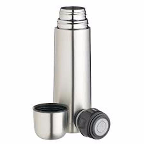 bouteille thermos isotherme acier chrome 0 5 litre 50 cl. Black Bedroom Furniture Sets. Home Design Ideas