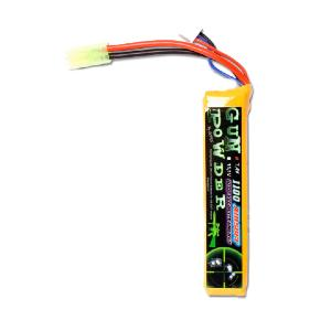 BATTERIE 7.4 V 1100 MAH LI-PO TYPE STICK