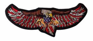 ECUSSON / PATCH FLYING EAGLE AIGLE VOLANT