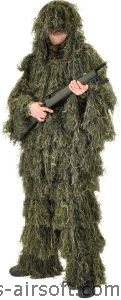 GHILLIE POLYESTER TENUE DE CAMOUFLAGE SWISS ARMS