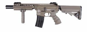 M4 VIS CQB ELITE KING ARMS AEG DESERT FULL METAL SEMI ET FULL AUTO 1.4JOULE AVEC BAT ET CHARG