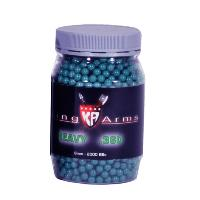 BILLES KING ARMS 2000 X 0.36 G BLEU HAUTE PERFORMANCE