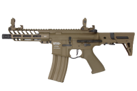 FUSIL D'ASSAUT LT-29 PROLINE GEN2 ENFORCER PDW TAN LANCER TACTICAL AEG SEMI ET FULL AUTO 1 JOULE SANS BATTERIE NI CHARGEUR