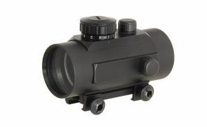 RED DOT SIGHT 1 X 45 VISEE POINT ROUGE ET VERT REGLABLE