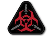 PATCH / ECUSSON PVC VELCRO OUTBREAK RESPONSE TEAM ROUGE MSM