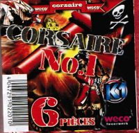 PAQUET DE 6 PETARDS CORSAIRE N°1 WECO TYPE BISON 1