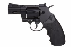 REVOLVER PYTHON 357 BLACK 2.5 CO2 FULL METAL AVEC 6 CARTOUCHES 1.4 JOULE