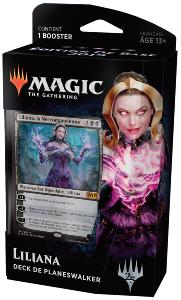 DECK DE PLANESWALKER EDITION DE BASE 2019 LILIANA LA NECROMANCIENNE MAGIC THE GATHERING