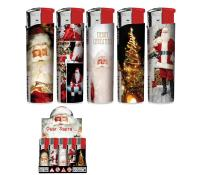 LOT DE 50 BRIQUETS PERE NOEL ELECTRONIQUE RECHARGEABLE