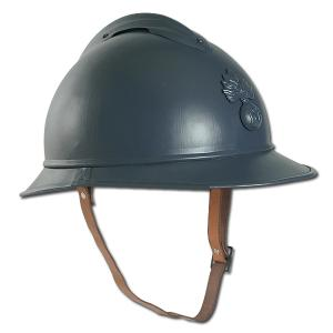 CASQUE MILITAIRE FRANCAIS ADRIAN METAL GRIS ( REPRODUCTION )