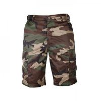 BERMUDA US MULTIPOCHES CAMOUFLAGE WOODLAND TAILLE L