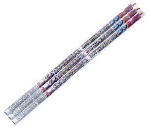 CHANDELLE ROMAINE MAGIQUE DE 20 BOULES MULTICOLORES WECO - LOT DE 4 PAQUETS DE 3 CHANDELLES