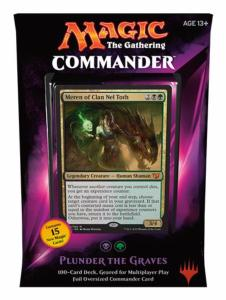 DECK COMMANDER PILLAGE DES TOMBES MAGIC THE GATHERING