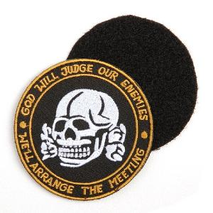ECUSSON / PATCH BRODE VELCRO GOD WILL JUDGE OUR ENEMIES AIRSOFT
