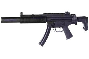 MP5 GSG - 522 INTEGRATED SILENCER AEG BLOWBACK SEMI ET FULL AUTO 1.3 JOULE