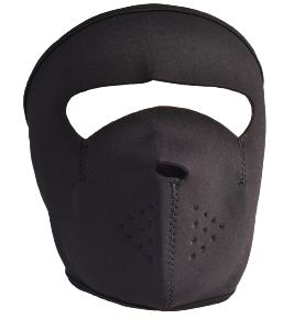 MASQUE DE PROTECTION NEOPRENE NOIR