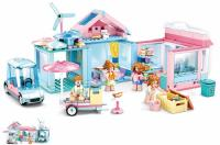 JEU DE CONSTRUCTION COMPATIBLE LEGO SLUBAN GIRL'S DREAM NOUVELLE MAISON M38-B0822 FIGURINES ARTICULES