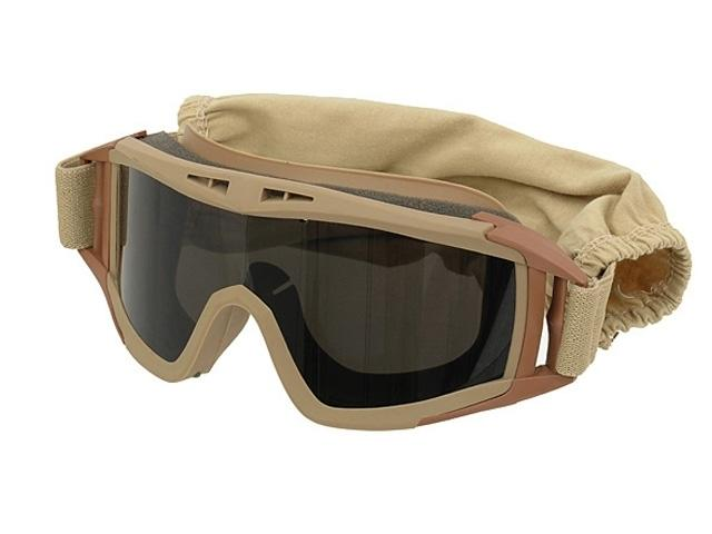 m51617060 tan lunette masque protection deser ecran teinte. Black Bedroom Furniture Sets. Home Design Ideas