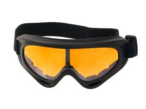 MASQUE - LUNETTE DE PROTECTION NV123 JAUNE/ORANGE ELASTIQUEE