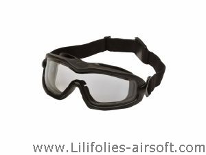 MASQUE - LUNETTE DE PROTECTION STRIKE SYSTEMS