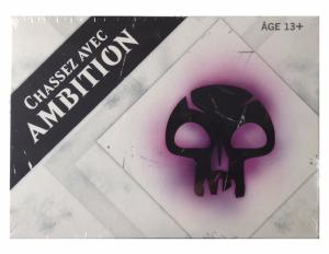 PACK AVANT PREMIERE CHASSEZ AVEC AMBITION VIOLET EDITION DE BASE 2015 MAGIC THE GATHERING