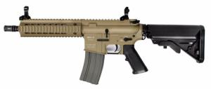 M4 MK-08 CLASSIC ARMY FULL METAL TAN AEG MOSFET 1.1 JOULE DARK EARTH AVEC BATTERIE ET CHARGEUR