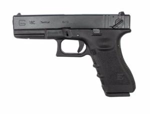 G18C GENERATION 3 WE NOIR GBB SEMI AUTO 0.9 JOULE