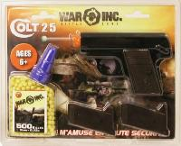 COLT 25 WAR INC NOIR AVEC CROSSE MARRON SPRING HOP UP 0.07 JOULE