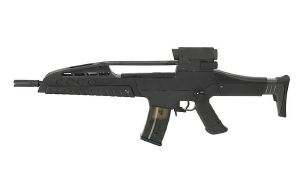 FUSIL A BILLES XR8 III AEG NOIR SEMI ET FULL AUTO HOP UP 1.5 JOULE