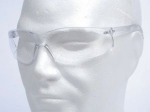 LUNETTE DE PROTECTION OCULAIRE BLANCHE ANTI IMPACT AIRSOFT