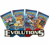 1 PAQUET DE 10 CARTES BOOSTER SUPPLEMENTAIRES POKEMON XY12 EVOLUTION A COLLECTIONNER