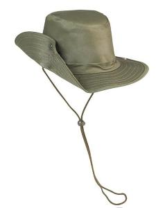 CHAPEAU STYLE COW BOY OD VERT OLIVE TAILLE M