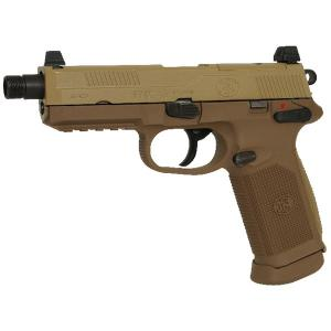 FNX-45 TACTICAL TAN FN HERSTAL GAZ BLOW BACK CULASSE METAL 1 JOULE