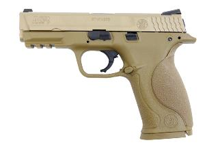 M&P 9 LONG SMITH & WESSON TAN CULASSE METAL MOBILE GAZ BLOWBACK 0.9 JOULE
