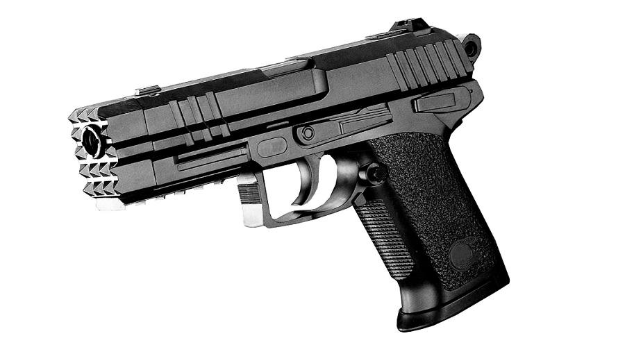 pistolet a billes 20 cm elite series 52174 avec rail 0 5. Black Bedroom Furniture Sets. Home Design Ideas