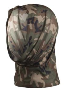 BANDEAU / HEADGEAR MULTIFONCTION EXTENSIBLE CAMO WOODLAND