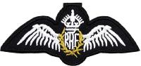 PATCH / ECUSSON TISSU THERMOCOLLANT BRODE EMBLEME ROYAL AIR FORCE