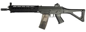 SIG 551-1 AEG FULL METAL VERSION BLOWBACK SPIN UP AVEC RAIL 1.2 JOULE