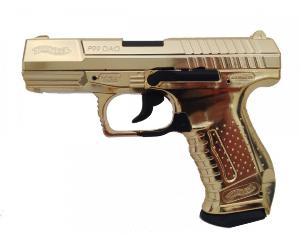 P99 WALTHER DAO CUSTOM DORÉ CO2 UMAREX METAL BLOW BACK GBB 1.9 JOULE