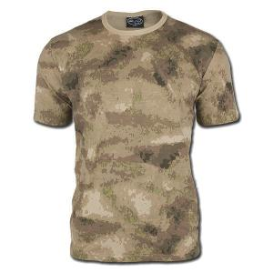TEE SHIRT CAMOUFLAGE MIL-TACS FG COL ROND ET MANCHES COURTES