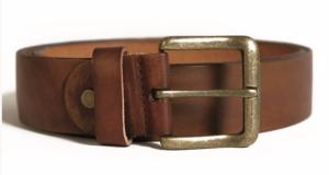 ceinture en cuir marron et boucle bronze f321898a29f