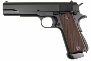 KJ WORKS 1911 CO2 FULL METAL BLOWBACK CULASSE MOBILE 1 JOULE