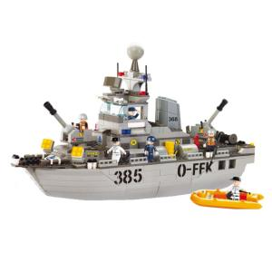 JEU DE CONSTRUCTION COMPATIBLE LEGO SLUBAN ARMY DESTROYER MILITAIRE M38-B0125 SOLDAT ARTICULE